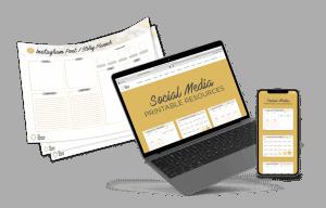 Social Media Printables